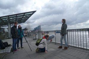Schülerprojekt Geschichtomat am Jungfernstieg